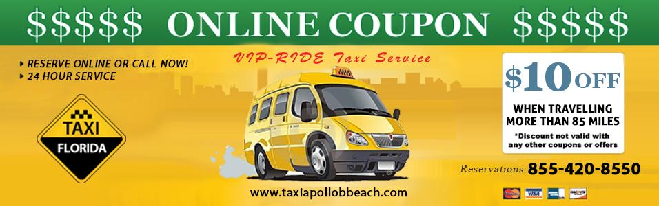 taxi apollo beach online coupon